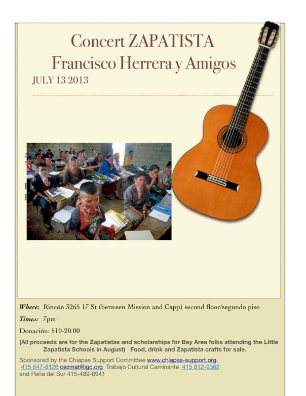 Concert with Francisco Herrera & Friends