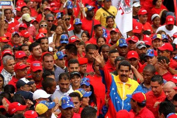 Venezuela Marches on May Day 2013