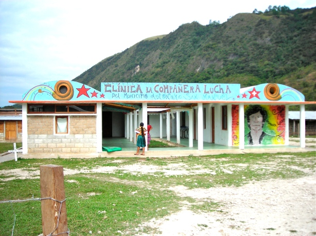 San Manuel's Municipal Clinic named in honor of Compañera Lucha