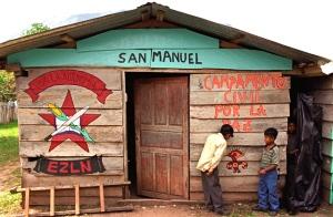 Peace Camp in San Manuel