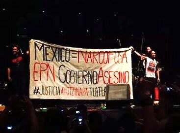 Ayotzinapa Banner