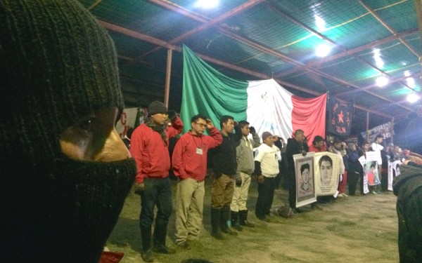 In Oventik, EZLN Celebrates 21st Anniversary with Ayotzinapa