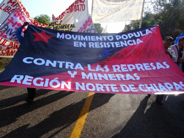 Popular Resistance against dams and mining companies in the north region