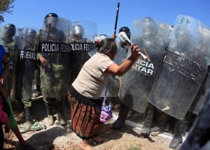 Resistance to Federal and Military Police in Guerrero.