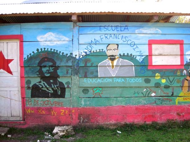 Francisco Madero Autonomous (Primary) School in San Manuel.