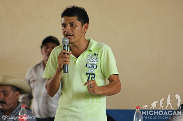 Semeí Verdía is the self-defense leader of Ostula, currently under arrest after the military attack.