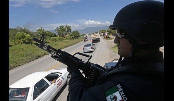 Military vigilance in Iguala, Guerrero