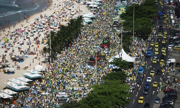June 2013 demonstration in Rio