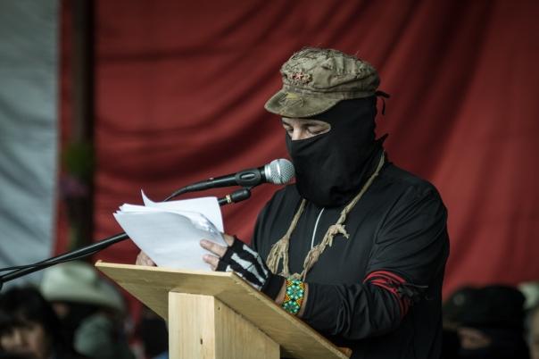 Galeano (aka Marcos) at the Seminar