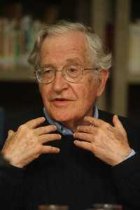 Noam Chomsky in an image from September 2009 during a visit to Mexico. Photo: Carlos Ramos Mamahua