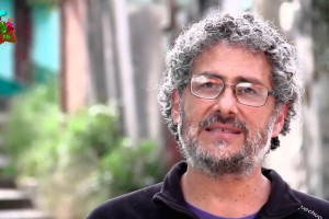 The Mexican activist Gustavo Castro Soto. Foto: Moviac