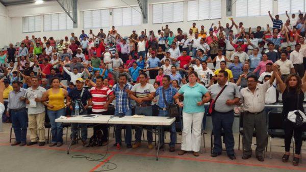 Chiapas assembly of parents
