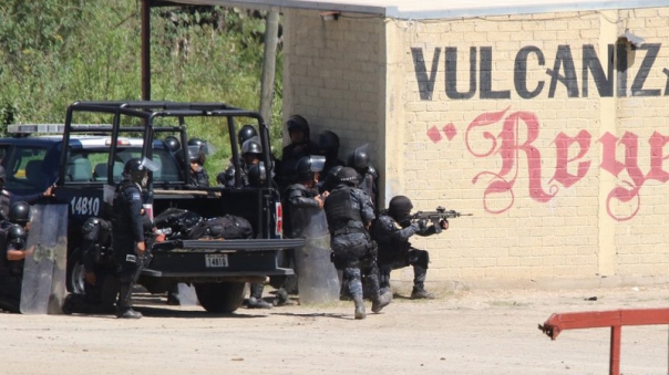 Federal Police opened fire on protesting teachers on June 19 in Nochixtlán, Oaxaca.