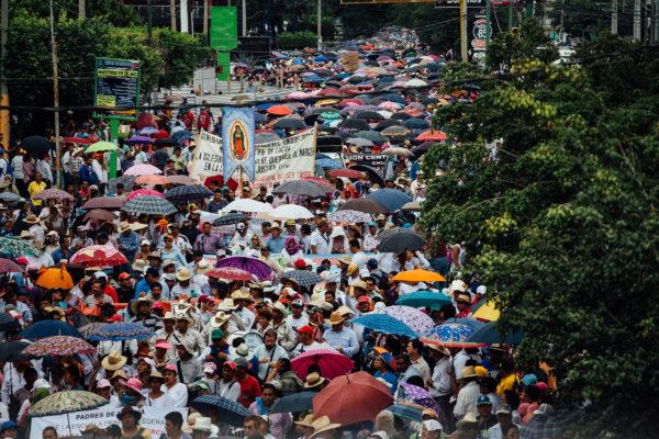 CNTE March in Tuxtla Gutiérrez. Photo: