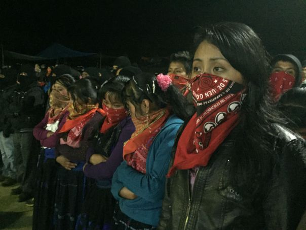 Indigenous Zapatista Women!