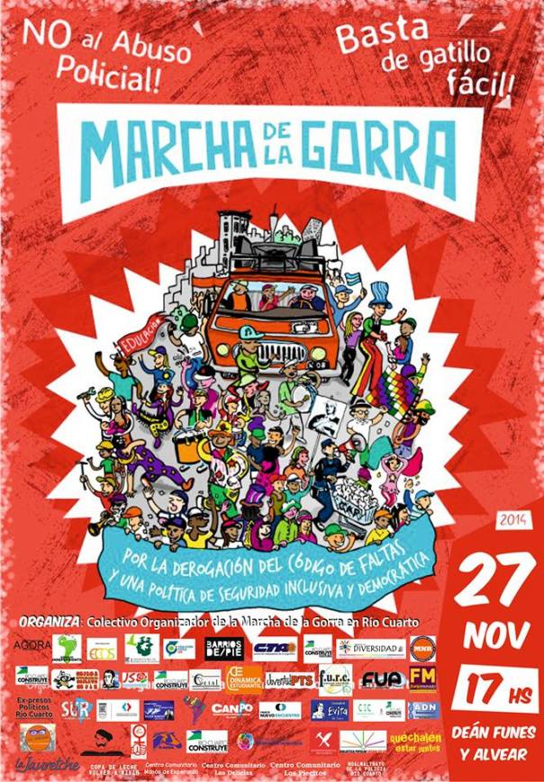 Marcha de la Gorra / March of the Cap, November 2014