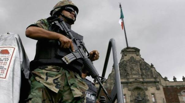 Mexican soldiers. Photo: Getty images.