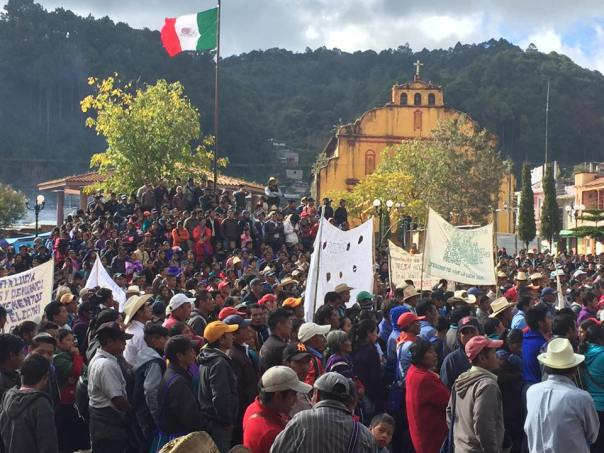 Movement for the Defense of Life and Territory Photo: Chiapas Paralelo