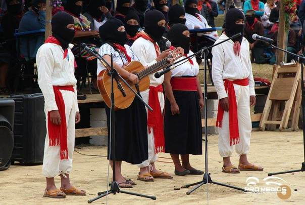Zapatista musicians