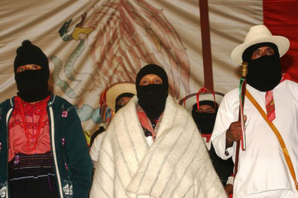 Zapatistas - Photo: Janet Schwartz