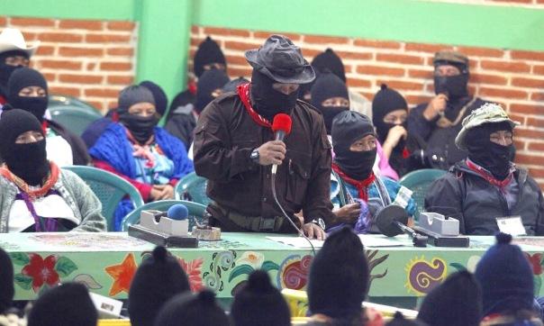 Subcomandante Moisés at ConSciences for Humanity.