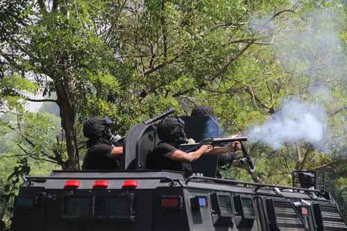Police Tank