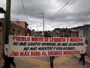 Pueblo Nuevo asks to expel armed groups-2-300x225