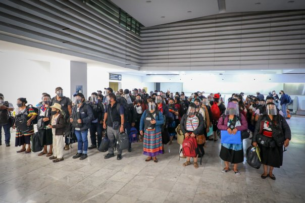 In the Mexio City Airport